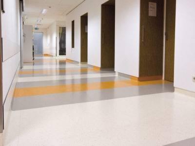 Der Renovierte Boden eines Krankenhauses